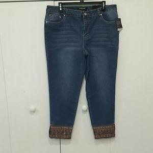 Embellished Jeans NWT